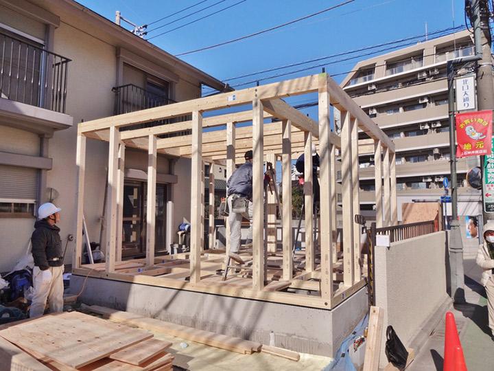 杉並区 K様邸 増改築リフォーム事例